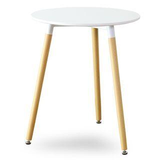 コーヒーテーブル【モッド60×72cm/ホワイト色】コーヒーテー...