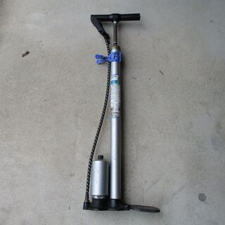 長期保管品:自転車用空気入れ1 交換ホース付き(こちらも長期保管品)