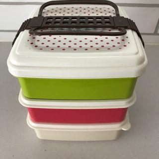 3段ランチボックス お弁当箱