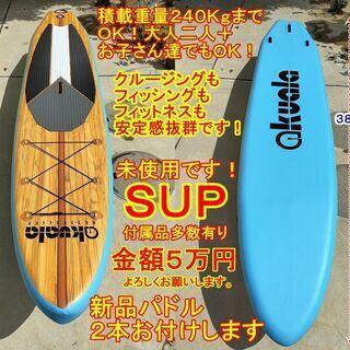 とてもキレイです~未使用SUP5万円!積載重量240KgまでOK...