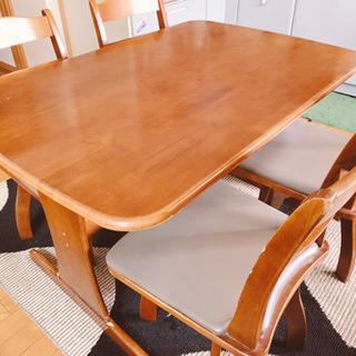 ダイニングテーブル  椅子セット