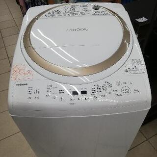 TOSHIBA 東芝 AW-8V8-W 2019年製 8kg 乾...