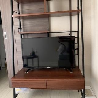 2way パソコンデスク テレビ台