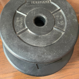【ネット決済】バーベル用プレート 2.5kgX2