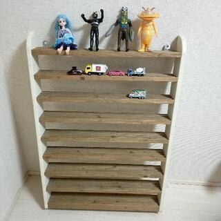 トミカ プラレール等 おもちゃ 収納棚