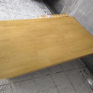 テーブル プライウッド 明るい木目