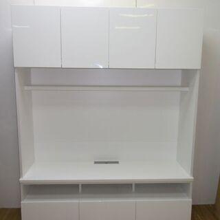 【ネット決済・配送可】jtp-0224 テレビボード 白