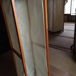 木製ハンガーラック 子供部屋に!不織布のカバー