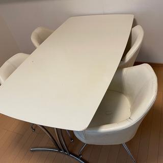 急募 ダイニングテーブル 120cm 椅子希望の方のみ譲ります