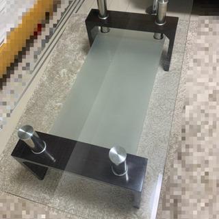 【ネット決済】値下げしました! ガラスダイニングテーブル