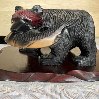 北海道 木彫りの熊