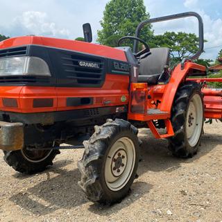 山口 クボタ GLAD GL201 21馬力 トラクター …