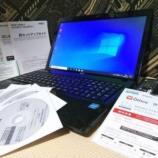 美麗NEC☆爆速SSD128GB メモリ4GB Windows1...