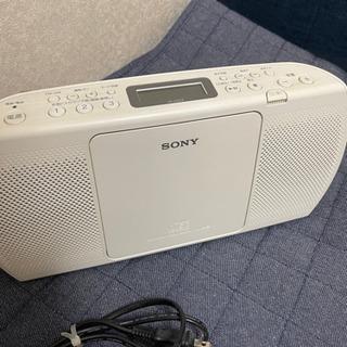 決まりました SONY ソニー CDラジオ