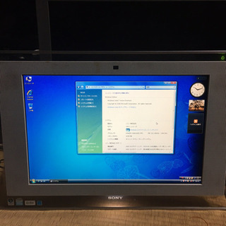 一体型パソコン【SONY】VAIO PCG-2A6N