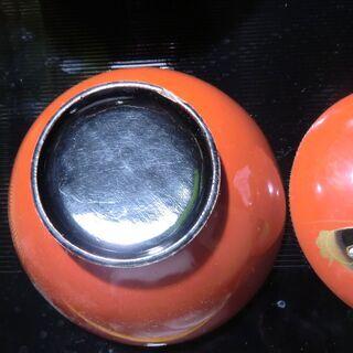 【骨董】蓋つき碗 鯉の蒔絵 ②/3 − 東京都