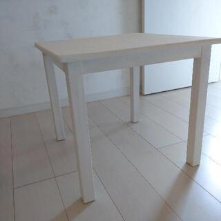 キッズ用テーブル 机 白