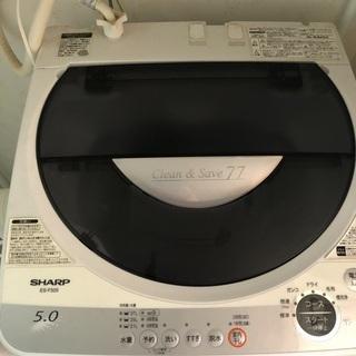 シャープ製全自動洗濯機