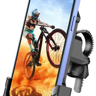 新品未使用、自転車 スマホホルダー 片手操作 一秒ロック バイク...