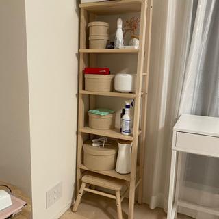 IKEA リーサボ棚(小さなベンチ付き)