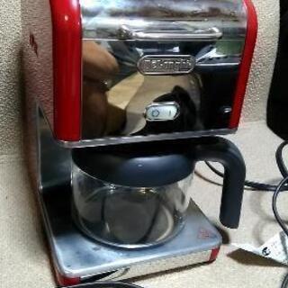 赤いコーヒーメーカー