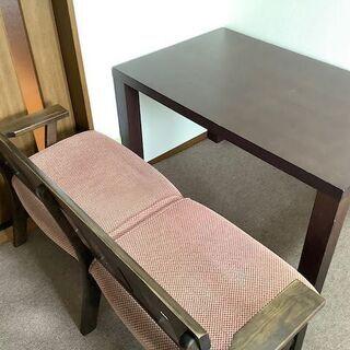 ニトリ ベンチチェア(2人がけ) 2脚セット - 家具