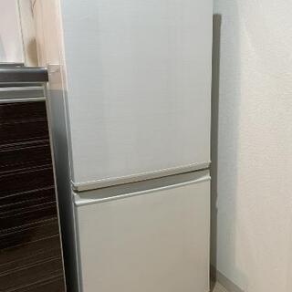 SHARP(シャープ)冷蔵庫 137L どっちもドア