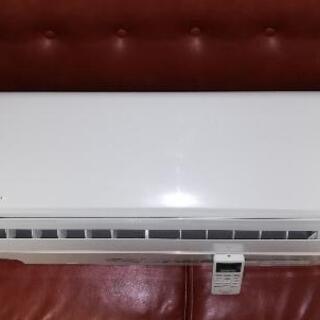 パナソニック冷暖房エアコン6畳 取付工事無料(説明文をお読み下さい)