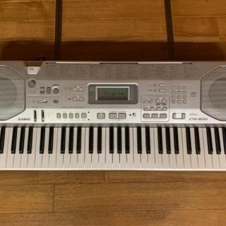 【ネット決済】カシオ 電子鍵盤 CTK-800 キーボード 電子ピアノ