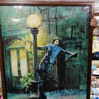 雨に唄えば 絵画ポスター