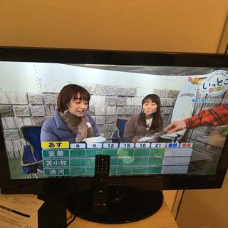 【ネット決済】液晶テレビ32型 薄型で美品