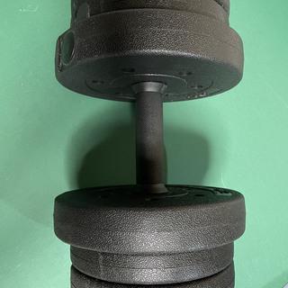 鉄アレー(プラスティク製)10kg