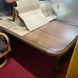 ダイニングテーブル リビングテーブル イス4脚