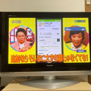 【ネット決済】【値下げ】 Panasonic プラズマTV 42型