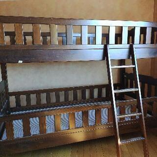 【ネット決済】格安二段ベッド、頑丈です。