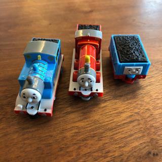 トーマス、ジェームス、貨車