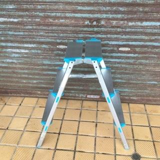アルミ3段ワイド脚立 洗車台 ガーデニング DIY