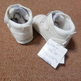 ミキハウス 新品白靴(12.5cm)半額以下です