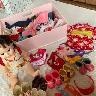 ぽぽちゃん お人形 服、靴など。