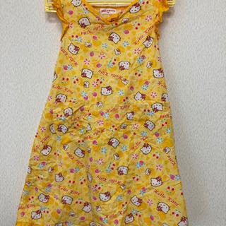 【子供服・ハローキティワンピース】サンリオ・130cm・女の子