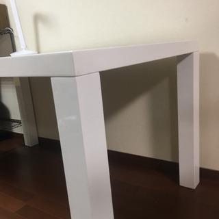 【ネット決済】ニトリ ホワイト ダイニングテーブル