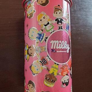 ミニミニペコちゃん人形 70周年 缶