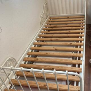 IKEA ジュニアベッド ミンネン