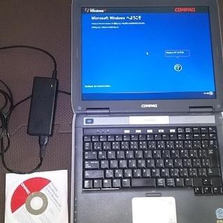 【ジャンク】ノートパソコン Windows XP Pro