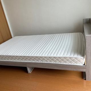 【ネット決済】ベッド セミダブルベッド