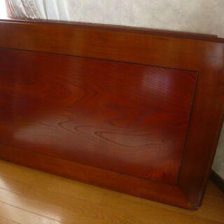 座敷机 テーブル 和室 天然木化粧合板 ウレタン樹脂塗装