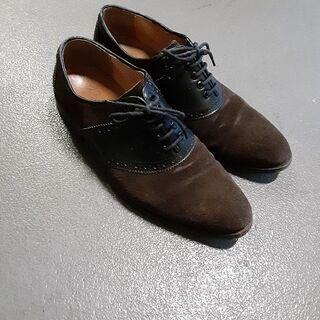 デザイン革靴25センチ❗綺麗です。