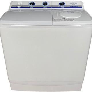 【451】日立の二槽式洗濯機・二層式洗濯機