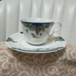 高級陶器コーヒカップ 4個セットの画像