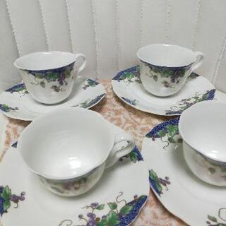 高級陶器コーヒカップ 4個セット - 生活雑貨